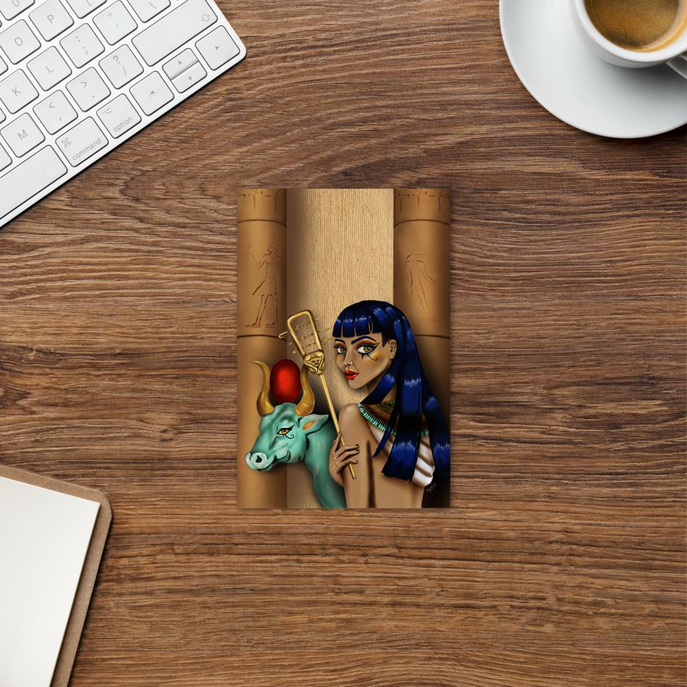 Hathor| Postkarte| Digital Art| Print